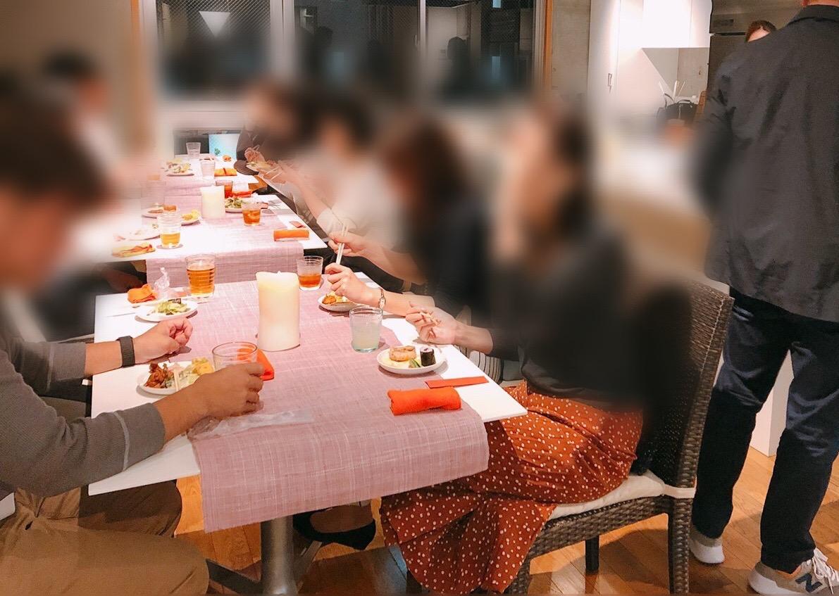理想の恋人探し食事会♪いい雰囲気♪